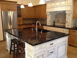 kitchen islands with granite countertops granite countertop traditional kitchen by cut designs