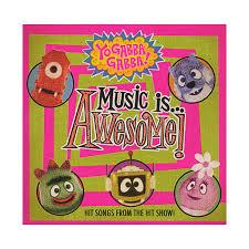 yo gabba gabba music awesome cd cover art producers