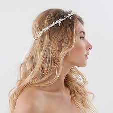 hair wreath bridal hair wreath with floral stamens thedog