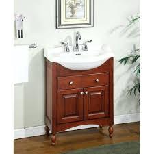 Narrow Bathroom Vanities Adorable Narrow Bathroom Vanity Higrand Co On Depth Cintascorner