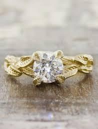 unique gold engagement rings unique engagement rings ken design