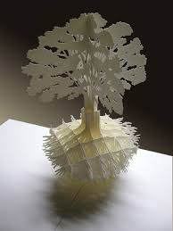 pop up tree tree with roots pop up cards cards roots cards