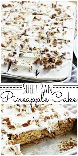 sheet cake with cream cheese frosting