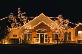 besides christmas decorations what other use do outside lights have