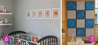 Nursery Wall Decor Ideas Roundup 10 Easy Diy Nursery Wall Ideas Curbly
