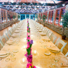 Long Table Centerpieces Show Me Your Long Table Reception Set Up And Decor Weddingbee
