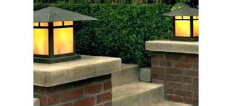 Patio Pillar Lights Exterior Column Lights Outdoor Light Fixtures Pillar Photo 9 Patio