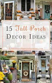Front Porch Fall Decorating Ideas - 15 fall porch decor ideas life on southpointe drive