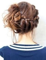 chignon tressã mariage les 50 meilleures images du tableau coiffure sur