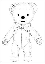 free printable teddy bear coloring pages technosamrat 1266