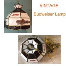 budweiser stained glass pool table light table lights ls budweiser pool table
