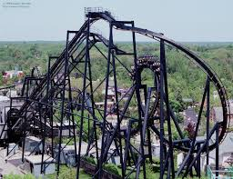 Six Flags Illinois Rollercoaster