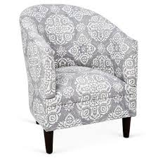 Gray And White Accent Chair Grey And White Accent Chair With Shop Gray And White