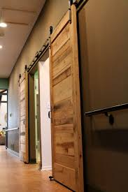How To Build A Sliding Barn Door Interior Sliding Barn Door Bathroom Barn And Patio Doors