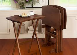 Folding Tv Tray Table Manchester Wood Celebrating 40 Years Of American Furniture