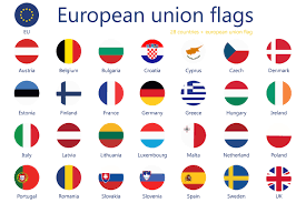 European Flags Images European Union Flags 50 Off Icons Creative Market