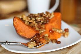 roasted yams with honey walnuts raisins the roasted root
