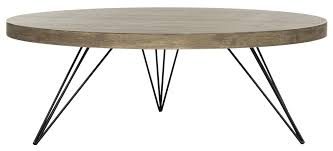 grey round coffee table fox4233a coffee tables furniture by safavieh