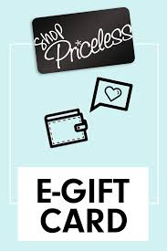 e card gift e card shop priceless