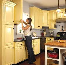 best color paint kitchen cabinets cherry wood for with dark maple