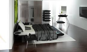 Modern Black Bedroom Sets Bed Cover White Black Motive White Curtain Flower Motive Pink Bed