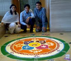 Tamil New Year Bay Decoration by Kiran Hegde U0027s Blog Rangoli U0026 Cubicle Decoration Competition In
