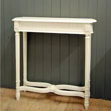 Shabby Chic Console Table Furniture Console Table With Storage Drawers Shabby Chic
