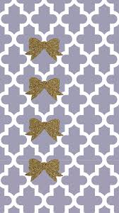 Cute Chevron Wallpapers by Plum Gray And Gold Glitter Bow Preppy Free Tech Wallpaper Bows