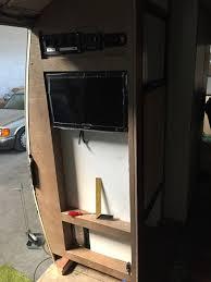 gmc motorhome makeover home bar tv cabinet vacuum cleaner