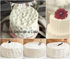 easy ways to decorate a cake at home 7 at home learn to decorate cakes photo how to decorate a simple