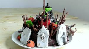 Halloween Decorations Cakes Halloween Cake How To Make Cakes U0026 Decorations Recipe Youtube