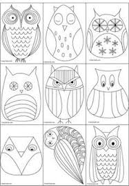 owls branches coloring thaneeya coloring