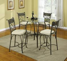 high end dining room chairs art intrigue round glass top dining table 161224 2636 loversiq