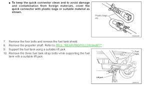 nissan pathfinder gas tank 2005 nissan pathfinder you replace the fuel level sensor