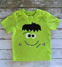 Toddler Halloween Shirts by Easy Frankenstein Shirt W Heat Transfer Vinyl Burton Avenue