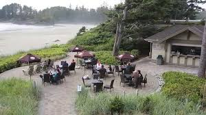 Beach Patio Tofino U0027s Only Beach Patio Long Beach Lodge Resort U0027s Sandbar Bistro
