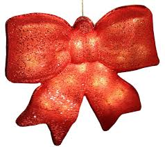 battery operated lighted christmas bows 15 5 red glittered battery operated lighted led christmas bow