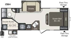 Keystone Rv Floor Plans New 2016 Keystone Rv Laredo Lht 25bh Travel Trailer At Blue Dog Rv