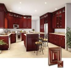 backsplash cherry oak kitchen cabinets red cherry kitchen