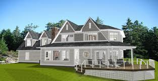 lake huron new england style house house plans 18769