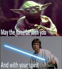 May The Force Be With You Meme - may the force be with you judith de munck hrabak we say