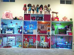 96 best ag doll images on pinterest american girl crafts american girl doll house structure built by mom s co worker and her husband