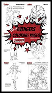 free avengers age of ultron coloring pages desert chica