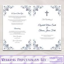 wedding program kits do it yourself memorial service programs sle this is what your template 1