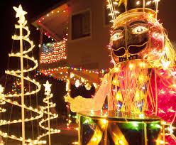 American Flag Christmas Lights Dana Point Home Holiday Decor Goes Big Bright U2013 Orange County