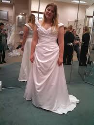 size 12 14 brides what was your dress shopping experience like