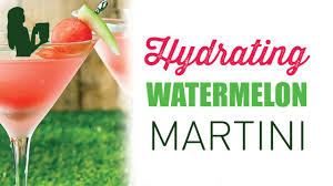 martini watermelon hydrating watermelon martini cocktail recipe youtube