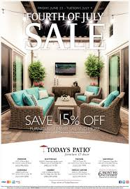 Patio Furniture In San Diego Of July Sale Today U0027s Patio Furniture And Decor San Diego Ca