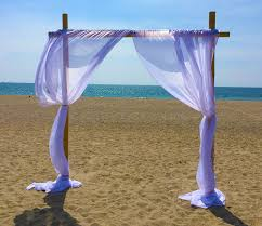wedding arch rental rent bamboo wedding arch just 4 party rentals santa barbara ca