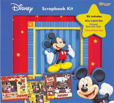 Mickey Mouse Photo Album Amazon Com Disney Sandylion 12x12 Postbound Scrapbook Photo